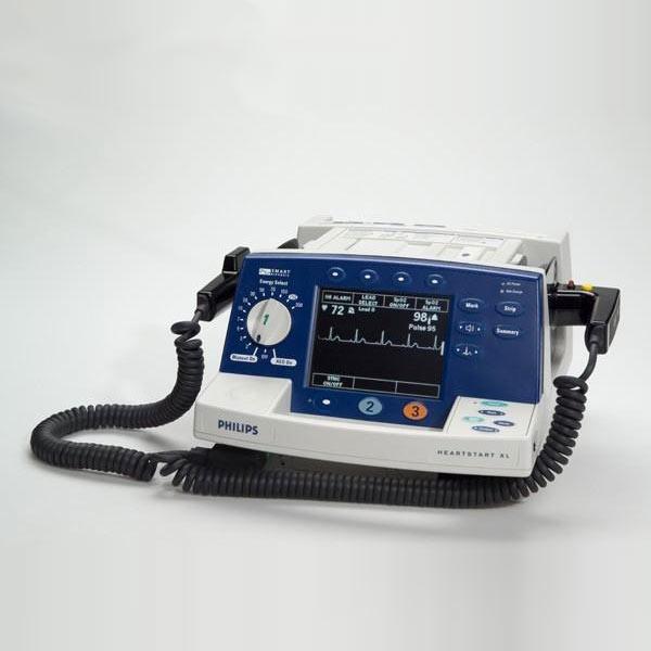飞利浦除颤血氧监护仪heartstart xl m4735a双相波