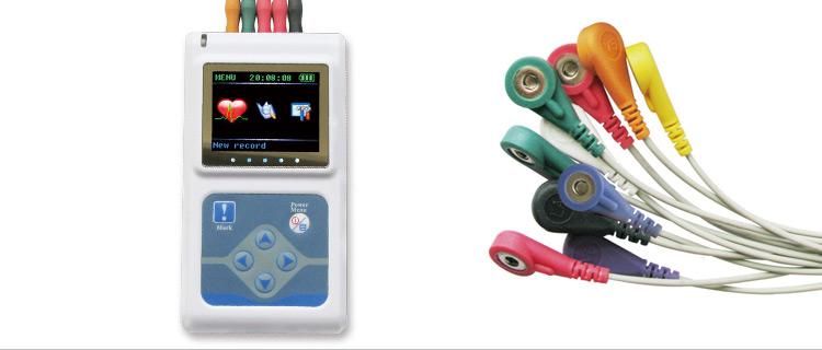 contec 康泰十二导动态心电图仪tlc500012导