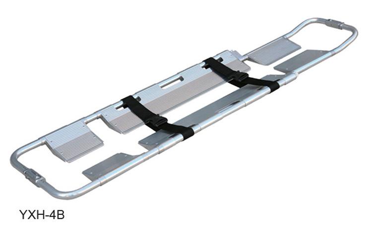 铝合金铲式担架yxh-4b采用分离型刚性结构,转送骨折及重伤病员